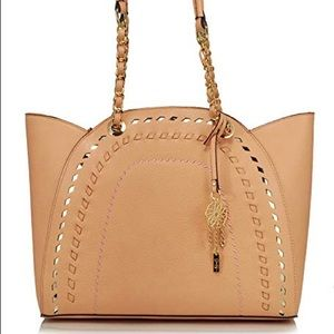 Jessica Simpson Peach Gwen Handbag